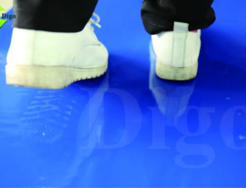 Floor Sticky Mats Traps Contaminants For Semi-conductor Industries