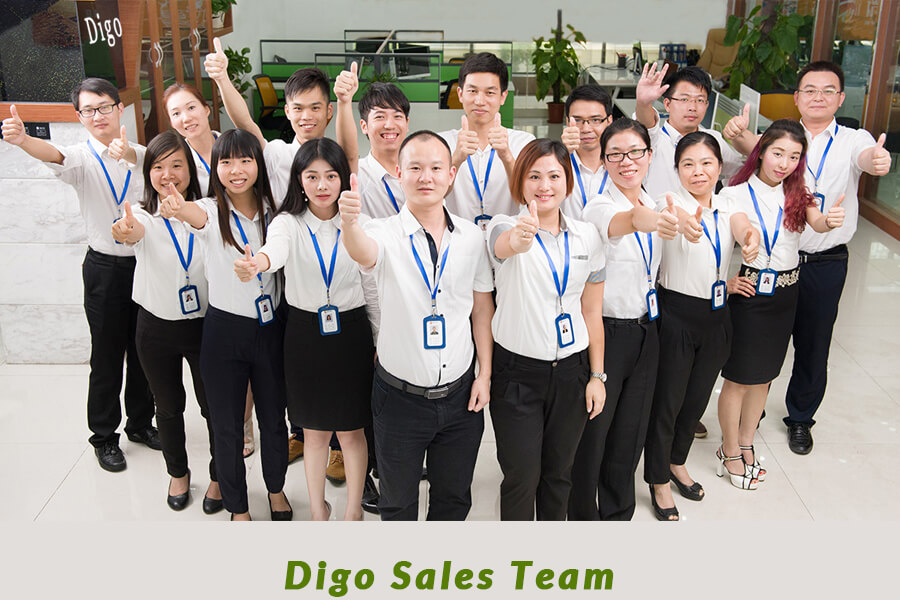 Digo sales team