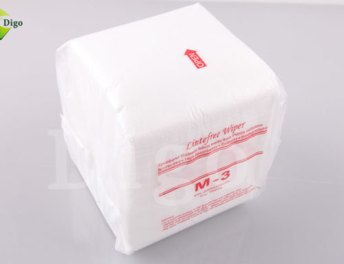 Cleanroom Wipes with good absorbency durability and abrasion resistance