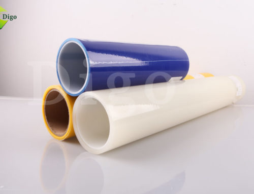 Glass Protection Film To Avoid Damage And Dirt during construction time.